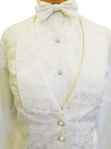 Formal Pasliey Shirt and Vest combo