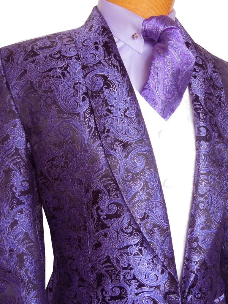 Purple Paisley Suit t Purple Paisley 2013